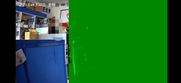 海康威视摄像头在手机萤石客户端高清画质绿屏 解决方法