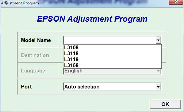 L3108L3118L3119L3158清零软件永久版  内部专用