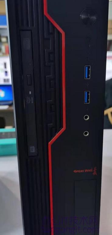 长城银河麒麟国产电脑 USB前置面板不能用的解决方法